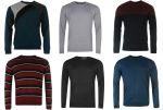 Lee Cooper,Pierre Cardin férfi vékony tavaszi pulóver mix!