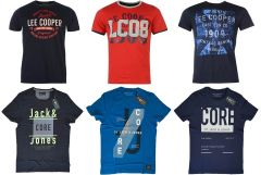Lee Cooper, Jack & Jones férfi póló mix!