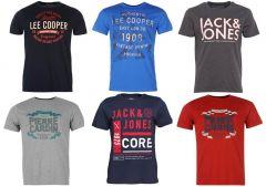 Jack & Jones, Lee Cooper, Pierre Cardin férfi póló mix!