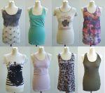 ICHI női nyári póló, top és blúz  mix  1 250 Ft  (kb 3,9 Euro) / darab áron kaphatók!