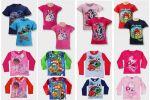 Gyerek rövid és hosszú ujjú póló mix 1 400 Ft  (kb 4,4 Euro) / darab áron kaphatók!