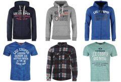 Lee Cooper férfi pulóver, póló és ing mix 2 600 Ft (kb 8,2 Euro) / darab áron kaphatók!