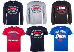 Penn férfi pulóver, és póló mix 2 200 Ft (kb 6,99 Euro) / darab áron kaphatók!