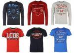 Lee Cooper férfi pulóver, és póló mix 2 400 Ft (kb 7,6 Euro) / darab áron kaphatók!