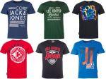 Jack and Jones, Sonneti, Lee Cooper, Penn Sports férfi póló mix 2 000 Ft (kb 6,3 Euro) / darab áron kaphatók!