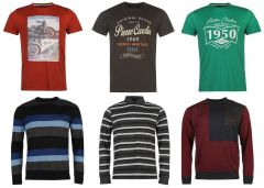 Pierre Cardin férfi pulóver, hosszú és rövid ujjú póló mix 2 200 Ft (kb 6,9 Euro) / darab áron kaphatók!