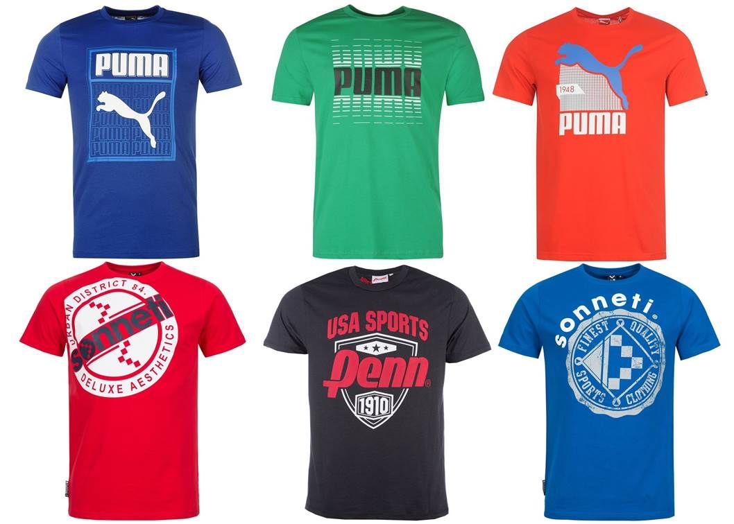 a19cd98bf6 Puma, Sonneti, Vision Street Wear, Penn Sports férfi póló mix 2 100 Ft (kb  6,7 Euro) / darab áron kaphatók!