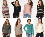 Női kötött pulóver mix, 1 800 Ft  (kb 5,8 Euro) / darab áron kaphatók!  ( németországi népszerű katalógusáruház termékei )