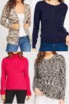 Női pulóver mix 1 800 Ft
