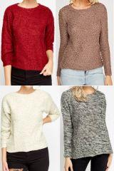 Női pulóver mix 1 600 Ft