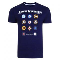 Lambretta férfi póló 2 200 ft