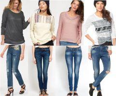 Női nadrág és pulóver mix 2 300 Ft