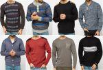 Férfi kötött pulóver mix 2 400 Ft