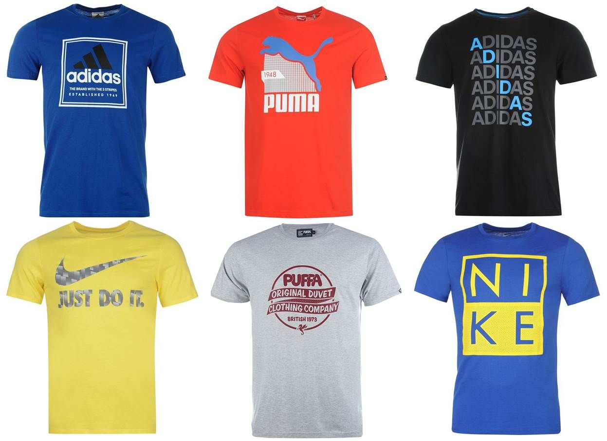 Nike, Adidas, Puma, Sonneti, PUFFA férfi póló mix 2 300 Ft